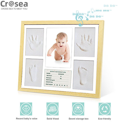 New birth baby voice recordable photo frame