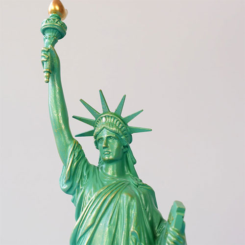 USA Statue of Liberty famous miniature building model