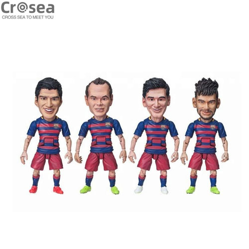 Customise Your Mini Soccer Player Figure Football Figurine