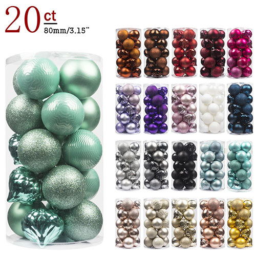 Christmas tree ornaments decoration ball