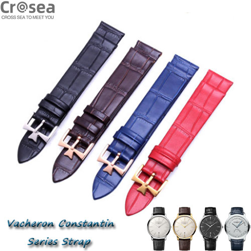 Vacheron Constantin Patrimony Traditionnelle Fiftysix  Egerie Harmony Malte Series Geniune Alligator Leather Watch Strap Replacement Collection